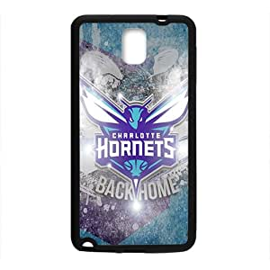 Charlotte Hornets NBA Black Phone Case for Samsung Galaxy Note3 Case