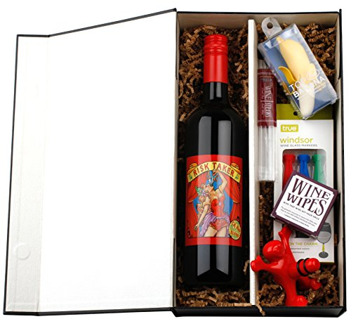 What's So Funny? Red Wine Gift Set with Risk Taker Red Blend, 1 x 750mL