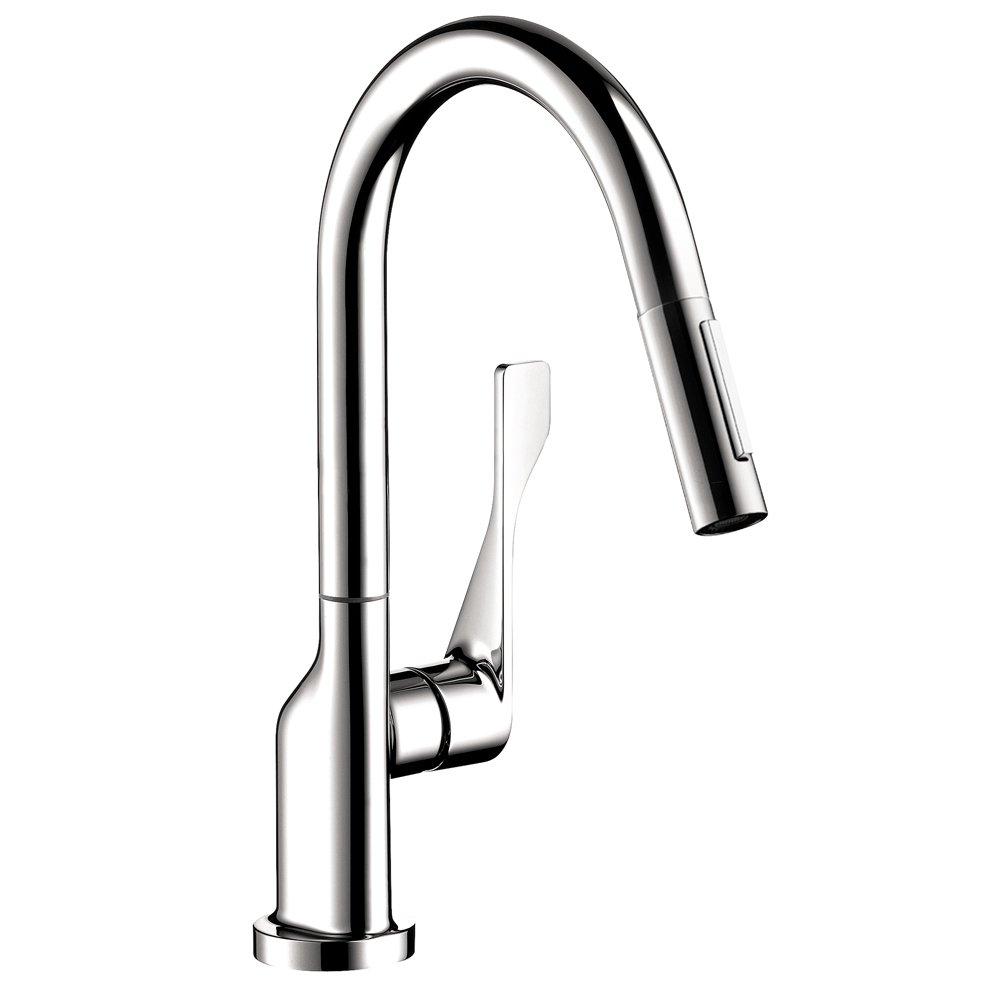 axor 39836001 citterio pull down prep kitchen faucet chrome