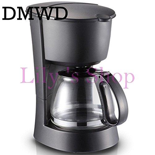 DMWD Household Automatic Cafe American Electric Coffee Machine Coffee Pot Anti-drip Espresso Coffee Maker Tea Boiler 600ml EU US by DMWD