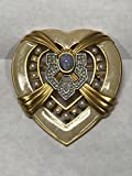 Elizabeth Taylor Hearts of Hollywood Pin