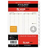 """AT-A-GLANCE Day Runner Weekly / Monthly Planner Refill, January 2018 - December 2018, 5-1/2"""" x 8-1/2"""", Column-Style, Loose Leaf, Size 4 (481-485)"""