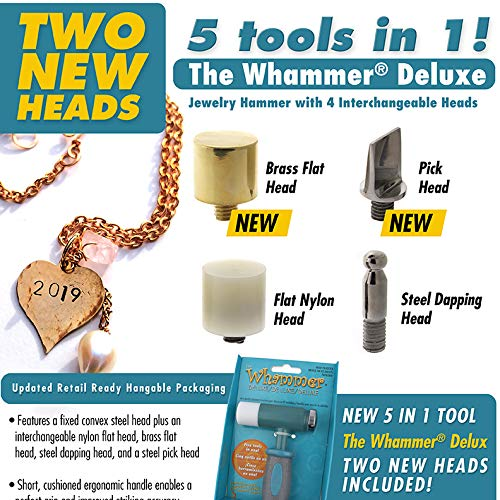 Whammer Deluxe Includes Four Interchangeable Heads