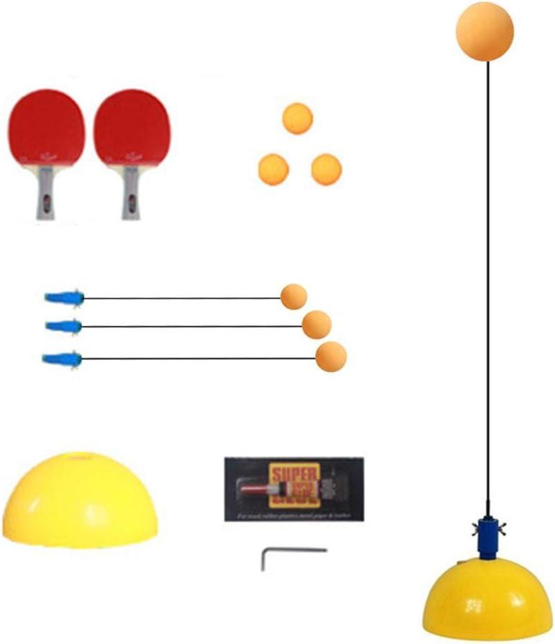 Entrenador De Tenis De Mesa, Interior Al Aire Libre Adultos/Adolescentes/Niños/Niños Juguete Elástico Soft Axis Ping Pong Ball Training Helper Ocio Descompresión Equipamiento Deportivo
