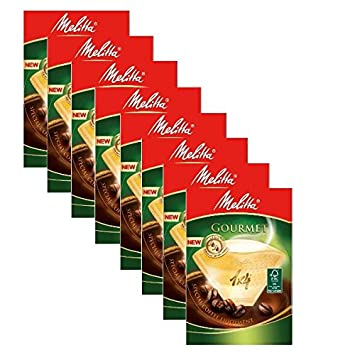 8 cajas de Melitta tamaño 1 x 4 filtros de café Gourmet, unidades 80: Amazon.es: Hogar
