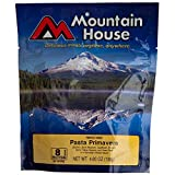 Mountain House Freeze-Dried Pasta Primavera Backpacking, Camping or Emergency Dinner/Meal – Two 10 oz Servings