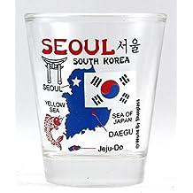 Seoul South Korea Shot Glass