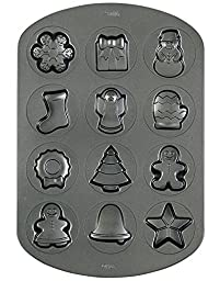 Wilton Christmas Cookie Shapes Pan