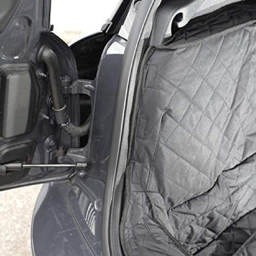 Black UK Custom Covers QBL278B Tailored Quilted Boot Liner Mat