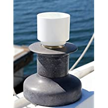"""Best Sail Boat Cup Holder - The """"Winch Wench"""" Winch Socket Mount Drink Holder! Clever mount shaft locks into your sailboat winch socket."""