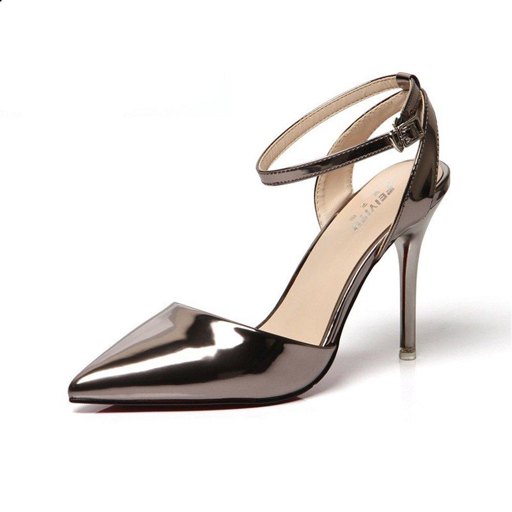 8cc3e8b4508134 A Fashion Women s Summer Sandals Slippers Sexy Thin Heel Sandals Women high-Heeled  Shoes