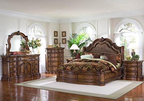 Platform Piece Five - Pulaski San Mateo 5 Piece Platform Bedroom Set - (King)