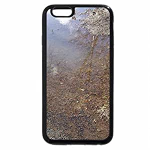 iPhone 6S / iPhone 6 Case (Black) Melted ice on ground 2