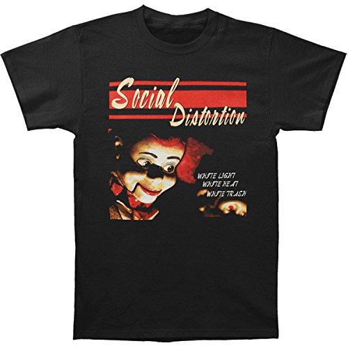 Social Distortion Men's White Trash Album Art T-Shirt 2XL