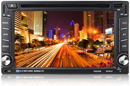 OCDAY Doble din autoradio Android Radio GPS Navegador para coche Blutooth 6.2