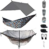 The Ultimate Camping Hammock RainFly Bundle with Fully Detachable Mosquito Net by Sun Society Review