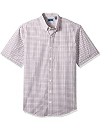 Men's Big and Tall Short Sleeve Hamilton Poplin Shirt