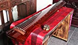Professional Aged Chinese Fir Wood Guqin, 7-string Zither (Fuxi Style)