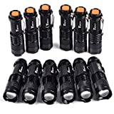 Best Led Flashlights - Timlon 12 Pack Tactical Flashlight Water Resist 7W Review