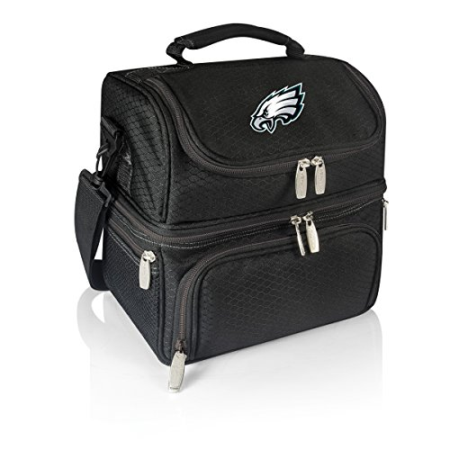 NFL Philadelphia Eagles Digital Print Pranzo Personal Cooler, One Size, Black by PICNIC TIME