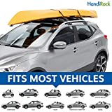 HandiRack - Universal roof rack bars -FITS MOST VEHICLES & SUVs- Best Inflatable roof top cargo carrier - Carry Canoes, Kayaks, Surfboards, Paddleboards,Luggage. 80kg/175lbs load capacity - HandiWorld