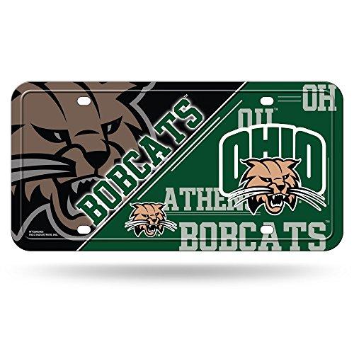 - Rico NCAA Ohio Bobcats Metal License Plate Tag