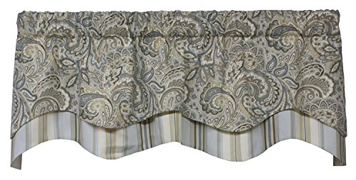 (Morelia Lined Layered Classic Valance Curtain 53