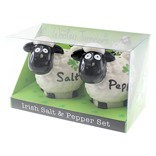 Irish Wooley Jumpers Salt And Pepper Shakers