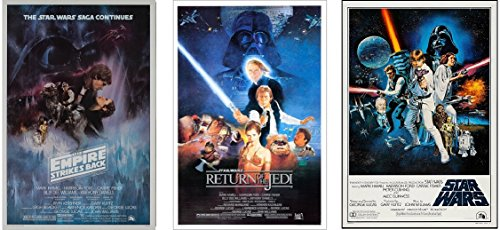 Star Wars Original Trilogy Classics Posters, 3 Full Size Pos