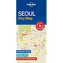 Lonely Planet Seoul City Map 1st Ed.: 1st Edition