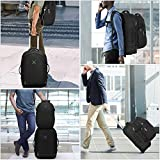 """Hynes Eagle 2 in 1 Travel Backpack 22"""" Carry on"""
