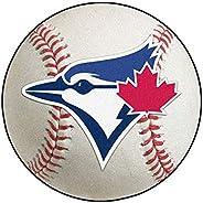 FANMATS 6359 MLB Toronto Blue Jays Nylon Face Baseball Rug