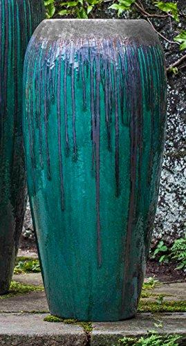 Campania International 115113-7901 Marisol Jar, Small, Bronze Jade Finish