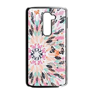 Feather YT013727 Phone Back Case Customized Art Print Design Hard Shell Protection LG G2