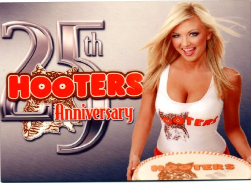 sexy-hooters-25th-anniversary-counter-display-sign