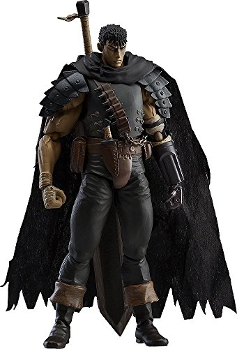 Max Factory Berserk: Guts (Black Swordsman Version) Figma Action Figure