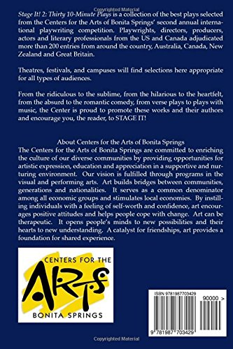 Stage It! 2: Thirty 10-Minute Plays: Centers for the Arts