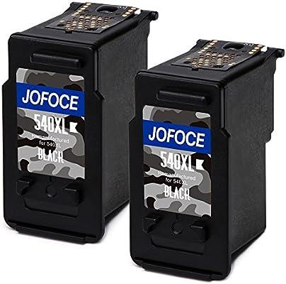 Jofoce Remanufacturado Canon PG-540XL CL-541XL Cartuchos de tinta ...