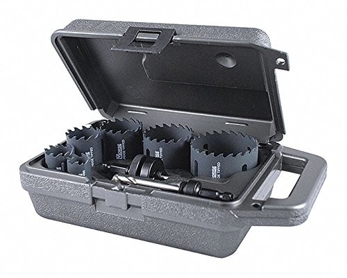 MK Morse MHST02E 8Piece Mhst Carbide Tip Electrician Hole Sa