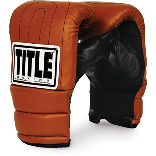 TITLE Old School Heavy Bag Gloves, Large