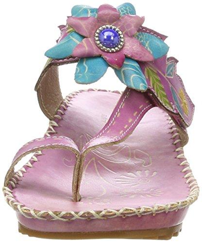 Laura Vita Bryan 20 - Mules Mujer Pink (LILAS)