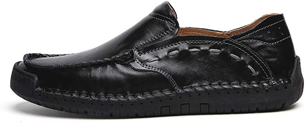 Men Shoes Genuine Leather Comfortable Men Casual Shoes Footwear Flats for Men Slip On Lazy Shoes