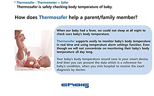 New 24 hours baby temperature safer thermosafer XST200 Korean / health care