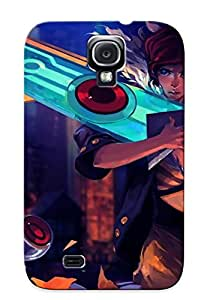 HCBFghi9717XtHbo Premium Transistor Back Cover Snap On Case For Galaxy S4