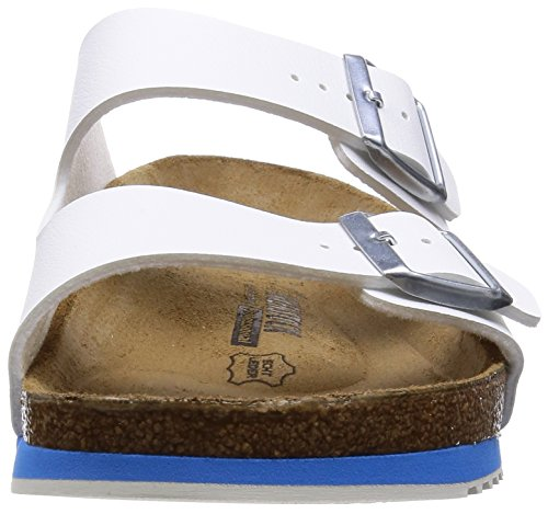 Birkenstock Arizona SL Birko-Flor Sandale normal white - 40