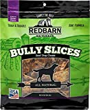 Red Barn Naturals Bully Slices Beef Dog Chews, Peanut Butter, 9 Ounce, 3 Pack