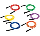 Sportime Gradestuff Link Jump Ropes, 8 Feet, Set of 6