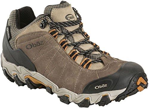 Oboz Bridger Low BDry Hiking Boot - Men's Walnut 8 D(M) US