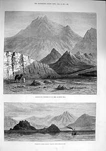 Isla 1874 del Faraón del Monte Sinaí de Jebel-EL-Nur Beke [Cocina y Hogar]