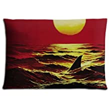 50x76cm 20x30inch bench pillow covers cases Polyester & Cotton Custom ease Jaws 2